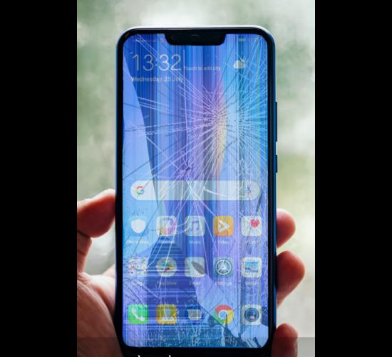 Màn hình Huawei bị sọc