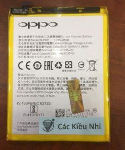 Thay pin Oppo F3 Plus