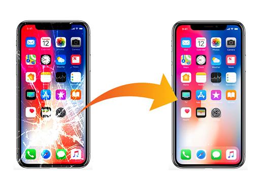 thay ép kính iPhone