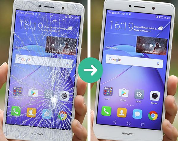 Thay mặt kính Huawei tại Cần Thơ