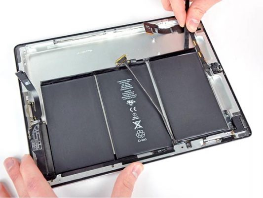 thay pin máy tính bảng ipad cần thơ