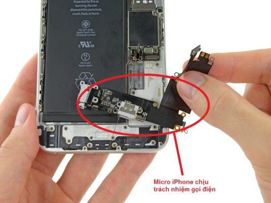 thay micro iPhone cần thơ
