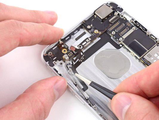 sửa iPhone hư nút volum