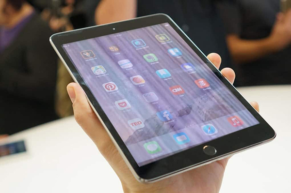 Màn hình iPad bị sọc