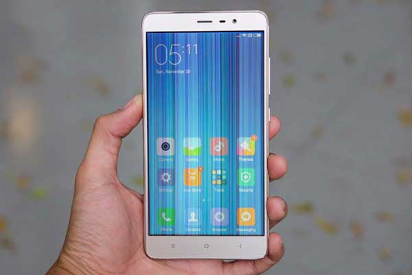 Xiaomi bị sọc hình