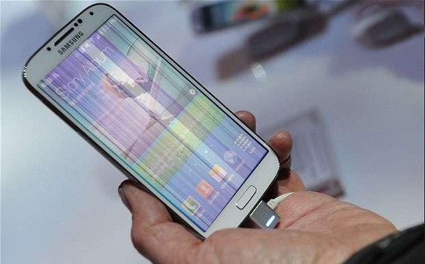 Màn hình Samsung bị sọc