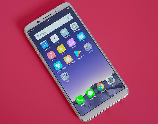 Điện thoại Oppo bị mất màu